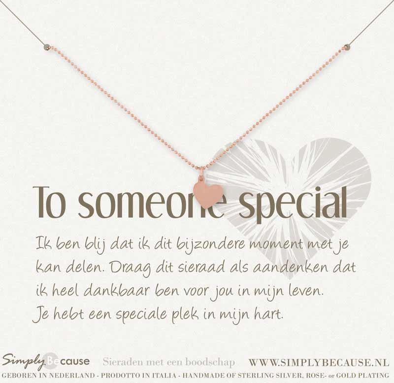 | To someone Special! Armband