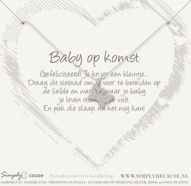 Zwanger Geef Eens Een Origineel Kado Nl Een Simply Because Armband