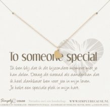 To someone Special! Armband
