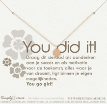 You did it! Armband