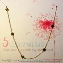 5 Lucky Wishes Ketting
