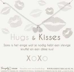 Hugs & Kisses! Ketting