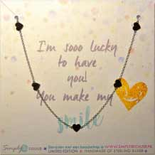 You make my Heart Smile Ketting