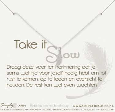 Take it slow! Ketting